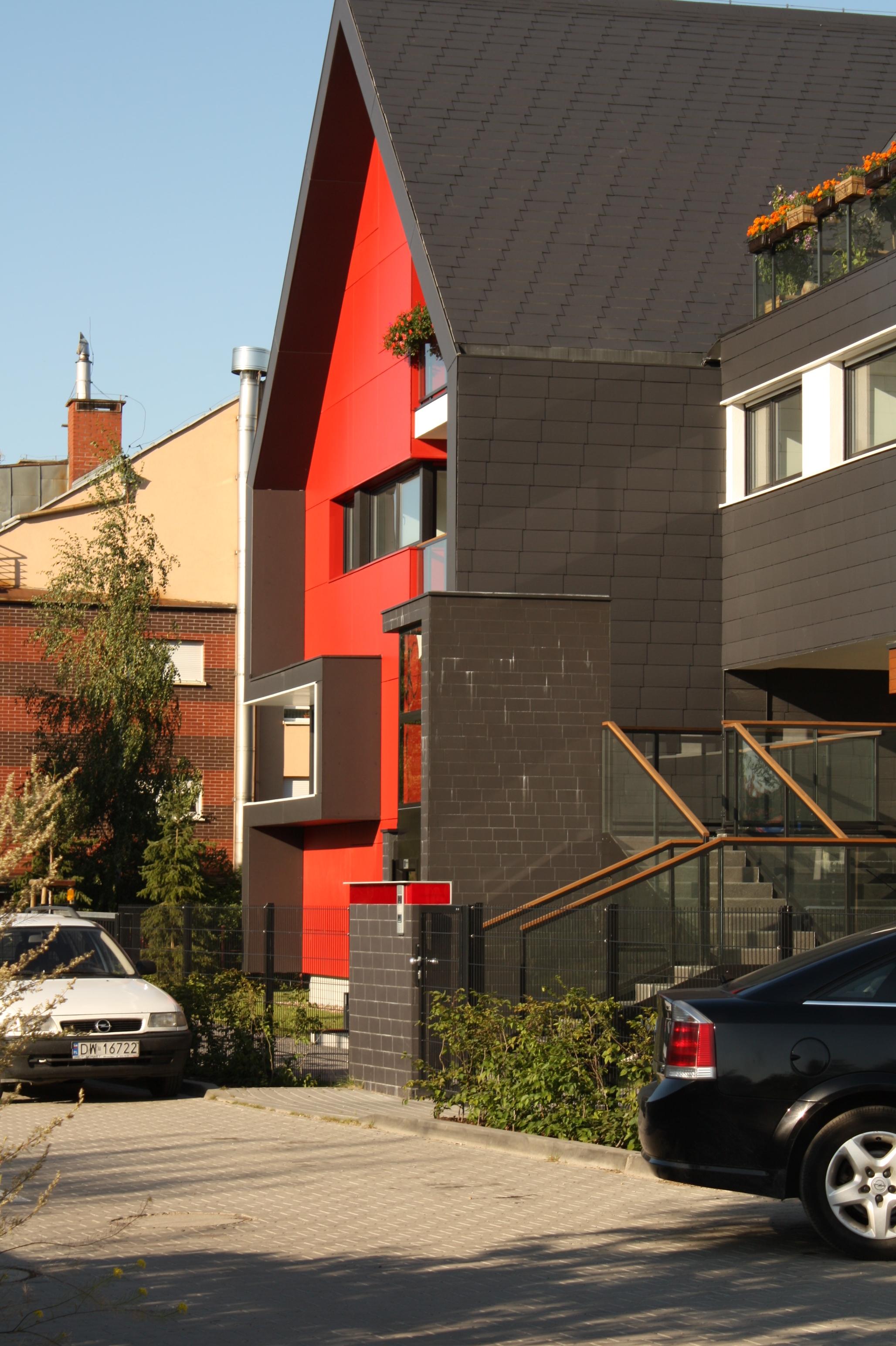 equitone nowoczesna elewwacja domu kolory