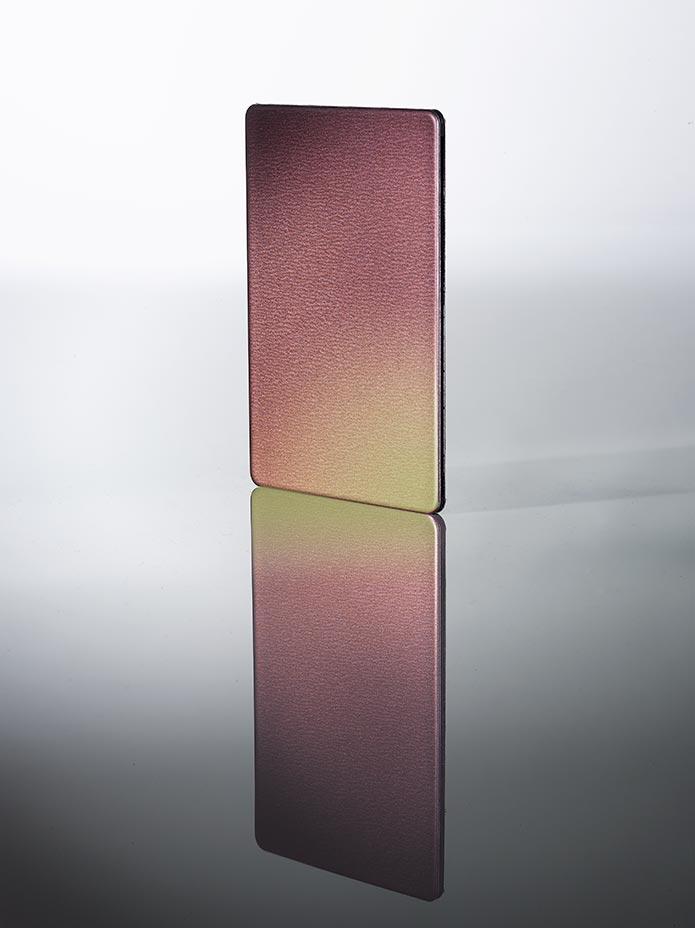 alucobond mieniace kolory kameleon panel kolor