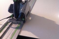 trespa cięcie plyty elewacyjnej HPL fasada wentylowana