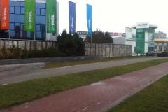 montaż realizacja trespa hpl kolory trespa Warszawa fasadowe plyty