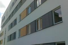 elewacja z betonu architektonicznego Equitone montaż m3ziolek