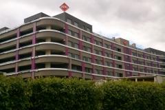 płyty elewacyjne Trespa fasada wentylowana okładziny HPL nowoczesne