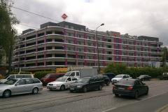 płyty elewacyjne Trespa fasada wentylowana okładziny HPL osiedle