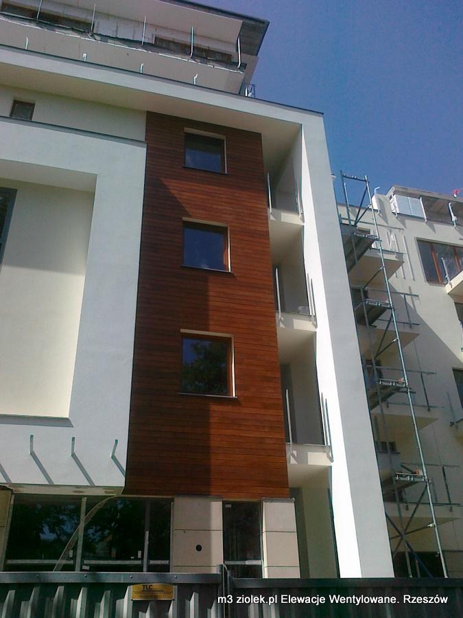 fasada wentylowana deski Kielce