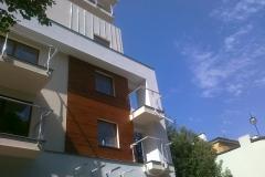 okladziny elewacyjne osiedle mieszkaniowe