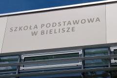 Trespa plyty elewacyjne montaz nowoczesne elewacje szkola Bielisze