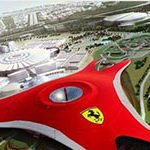 Ferrari – siatki elewacyjne