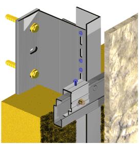 montaż elewacji kotwy tylnonacinane