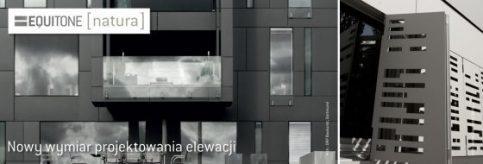 reklama płyty equitone elewacja wentylowana