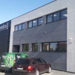 Budynek zakładu dentystycznego w Siedlcach.