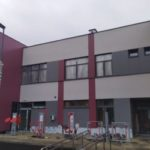 Kompozyt Bildex. Budynek Szkoły w Warszawie ul. Halna