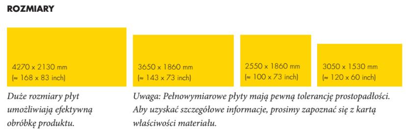 płyty elewacyjne trespa wymiary dane techniczne płyty elewacyjne hpl