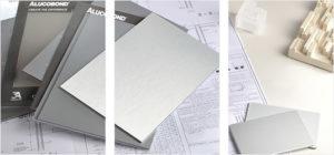 alucobond płyty kolory jednolite wzornik elewacja wentylowana metal